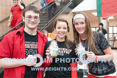 Left to right: Steven Neal, Kacie Sanderson and Danielle Sample.