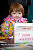 Libby Roberts, 3, doing some art work while waiting for the start of the walk. Photo by RICHARD LIM PHOTOGRAPHY