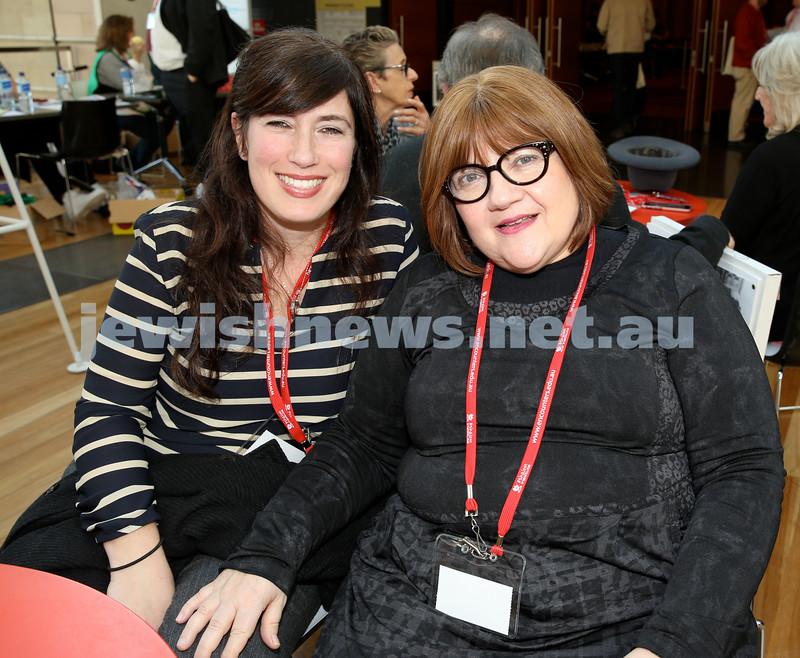 Limmud Oz. Presenters Lindy Abelsohn & Renee Mill.