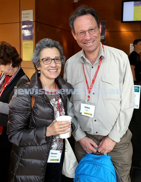 Limmud Oz. Doreen Finkelstein & Robbie Geyer.