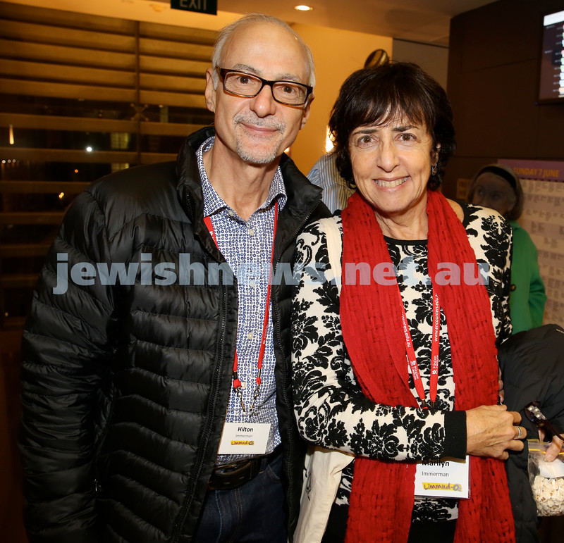 Limmud Oz. Hilton & Marilyn Immerman.