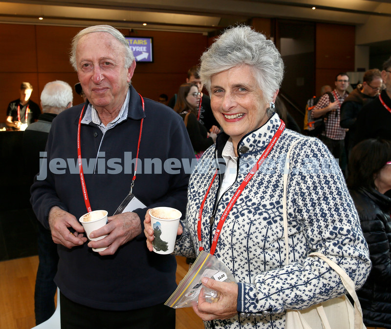 Limmud Oz. Jack & Rosiland Fisher.