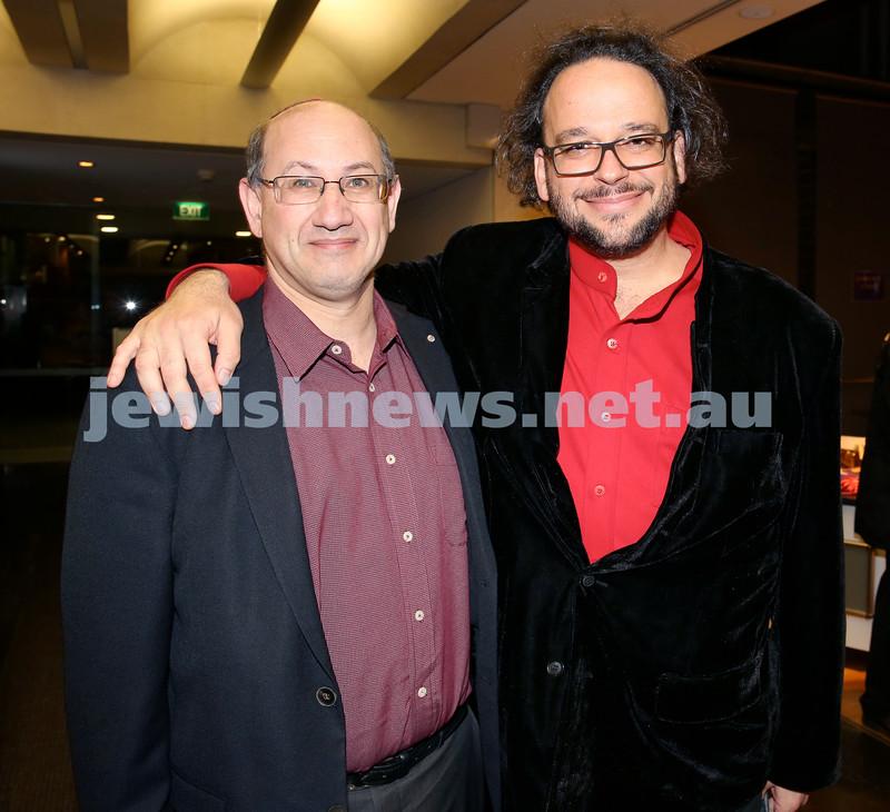 Limmud Oz. Jeremy Jones & Ghilad Zuckermann.
