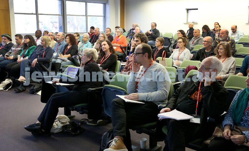 Limmud Oz. Audience during a lecture.