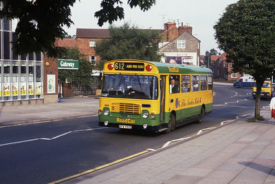 Lincolnshire Road Car 1058 High St Grantham Sep 89