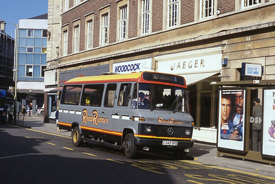 Lincolnshire Road Car 245 Silver St Lincoln Sep 89