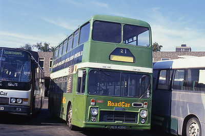 Lincolnshire Road Car 1986 Scunthorpe Bus Stn Sep 89