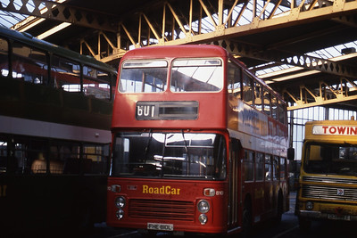 Lincolnshire Road Car 810 Lincoln Bus Station Sep 89
