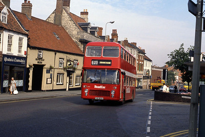 Lincolnshire Road Car 802 High St Grantham 1 Sep 89