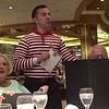 Our dinner waiter