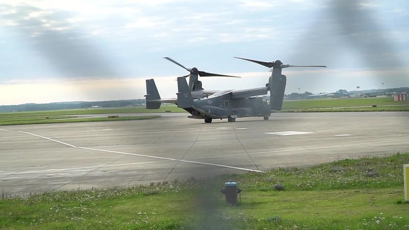 Aaron's Osprey taking off