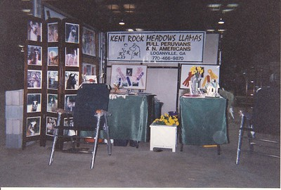 Our early Show Display Booth layout