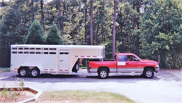 """Brand new trailer in 1998, with """"96 Dodge."""