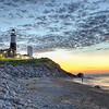 Montauk Point summer sunrise.