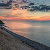 Sunset at Tide Beach, Rocky Point NY.  Late Spring