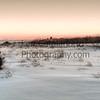 Heckcher Park February sunset.