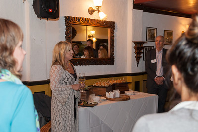 LMA guests enjoying a drink and new friends at the Le Colonial in SF.