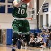 Oakmont Regional High School boys basketball played Lunenburg Middle High School on Friday night, Feb. 14, 2020 in Lunenburg. ORHS's #10 Jordan Hatch. SENTINEL & ENTERPRISE/JOHN LOVE