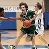 Oakmont Regional High School boys basketball played Lunenburg Middle High School on Friday night, Feb. 14, 2020 in Lunenburg. ORHS's #3 Brandan Hulecki. SENTINEL & ENTERPRISE/JOHN LOVE