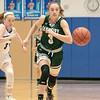 Oakmont Regional High School girls basketball played Lunenburg Middle High School on Friday night, Feb. 14, 2020 in Lunenburg. ORHS's #3 Kenna Rodriquenz chases down a loose ball. SENTINEL & ENTERPRISE/JOHN LOVE