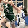 Oakmont Regional High School girls basketball played Lunenburg Middle High School on Friday night, Feb. 14, 2020 in Lunenburg. SENTINEL & ENTERPRISE/JOHN LOVE