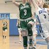 Oakmont Regional High School girls basketball played Lunenburg Middle High School on Friday night, Feb. 14, 2020 in Lunenburg. ORHS's ## Kenna Rodriquenz and LMHS's #3 Sarah Costich. SENTINEL & ENTERPRISE/JOHN LOVE