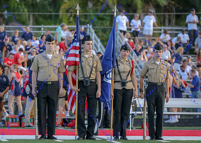 LBHS V FB vs. Lake Mary - Sept 16, 2016 AWAY