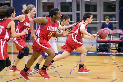 LBHS JV Girls Basketball vs. Lake Mary - Second Half Only - Jan 11, 2018