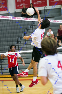 LBHS Boys Volleyball  vs LMHS - April 3, 2018