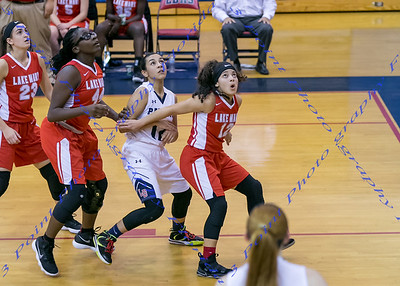 LBHS V Girls Basketball vs. Lake Mary - Jan 11, 2018