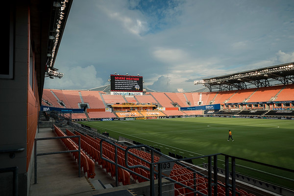 MLS SPORTING KANSAS CITY at HOUSTON DYNAMO