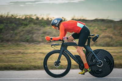 Cycling on the San Luis Pass - IRONMAN 70.3 Texas