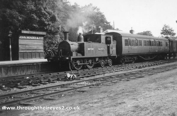 55051 P  Drummond Highland design ex H R (LMS) Dornoch 5 50pm to Mound Jct July 1949 (2)