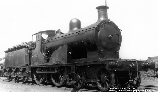 1071 D  Drummond C R  Class 66 type 4-4-0 Loco built 1884 Neilson & Co , Glasgow