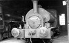 56011 Drummond Caledonian Railway design (LMS) - Caledonian Pugs Inverness loco shed 1957