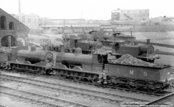 17267 Ayr shed Drummond Jumbo Class 0-6-0 294 and 711 Classes