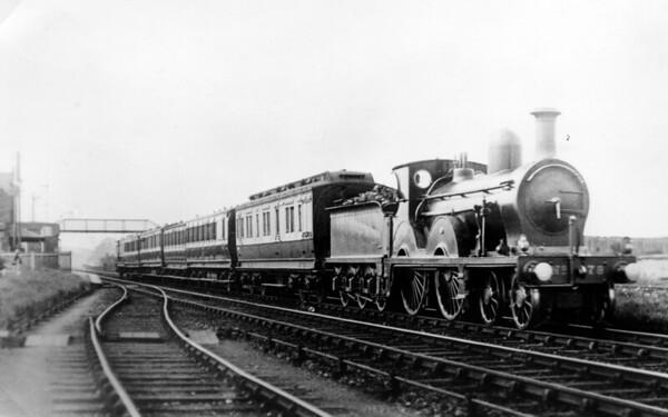 78 Gretna  J  Manson G&SWR 8 Class 4-4-0