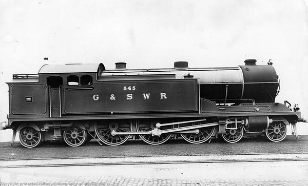 545 Glasgow & South Western Railway Robert Whitlegg 540 Class