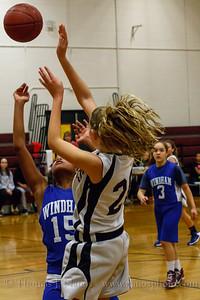 Lebanon Middle School Girls Basketball vs. Windham