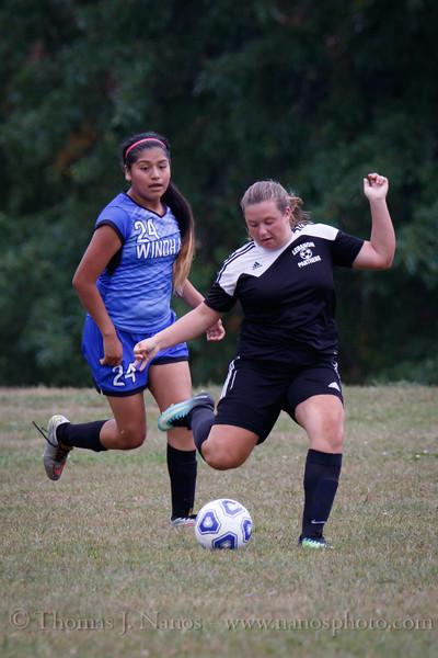 Lebanon Middle School Girls soccer vs Windham