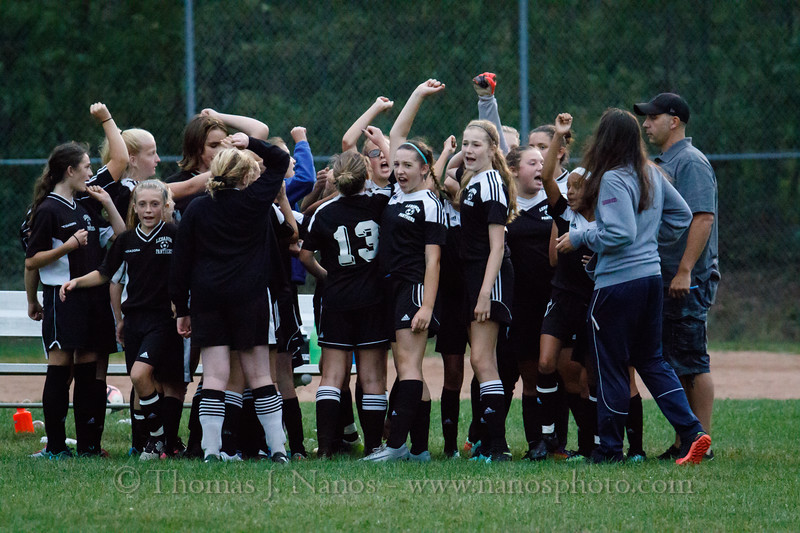 Lebanon Middle School Girls Soccer Panther Fest vs Bolton