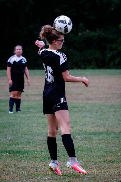 Lebanon Middle School Girls Soccer Panther Fest vs Coventry