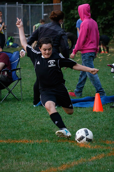 Lebanon Middle School Boys Soccer Panther Fest vs Bolton
