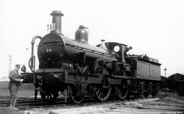 24 Derby shed 13th June 1925 Kirtley 800 class 2-4-0