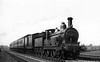 98 on a Nottingham-Leicester service May 1937 Kirtley Midland Railway 890 Class 2-4-0