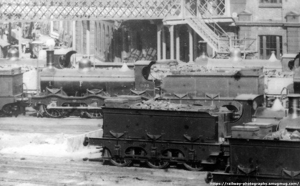 863 Derby c1880's Kirtley M R  700 class 0-6-0