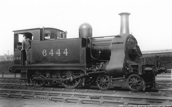 6444 Bow 5th April 1924 North London Railway-LNWR George Adams design 4-4-0T