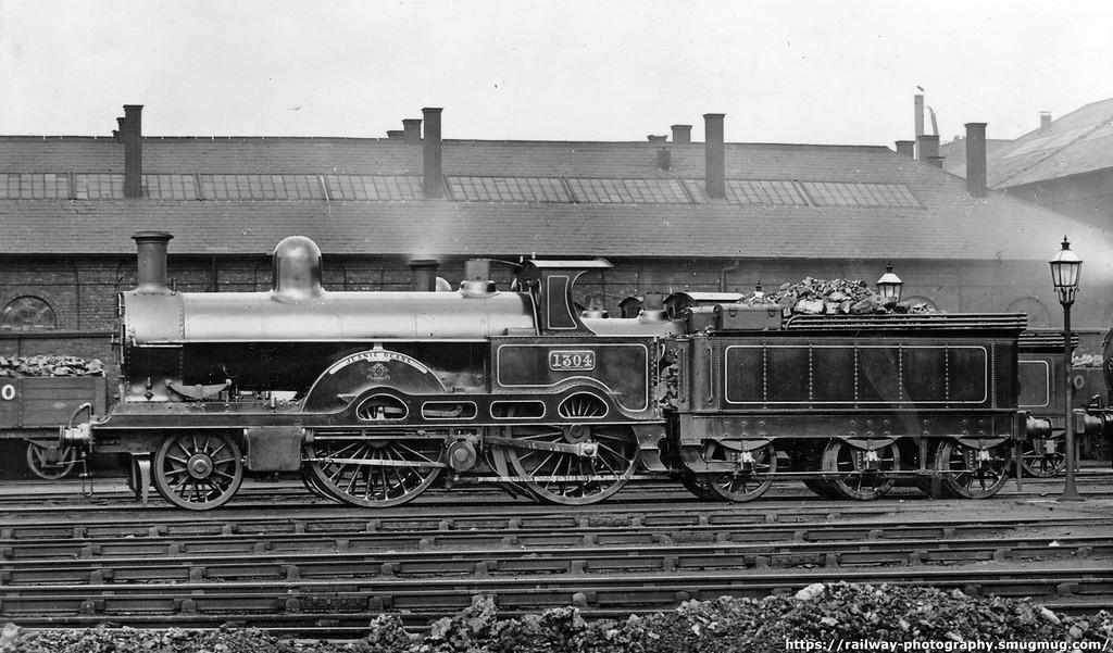 Webb locomotives of the LNWR : Webb 2-2-2-0 Teutonic class