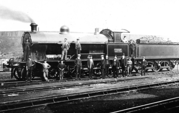 1997 was a 19 Experiment Goods,Works No 4651,became LMS No 8728  In service from May 1907 to June 1937 Hillhouse mpd 1907