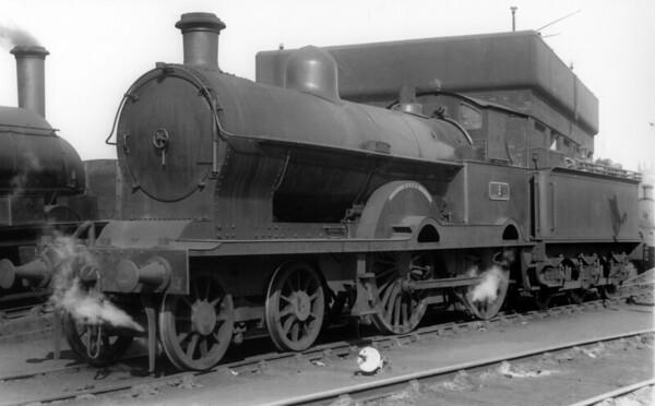 1  Clive Patricroft shed LNWR Whale Precursor Class 4-4-0